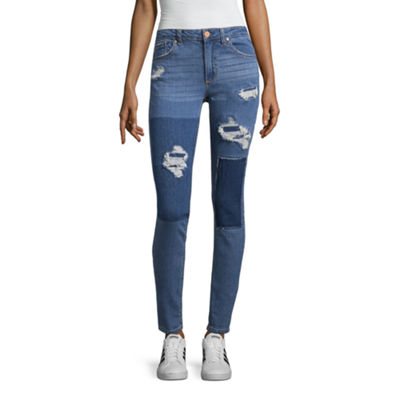 Almost Famous Womens Mid Rise Jeggings - Juniors