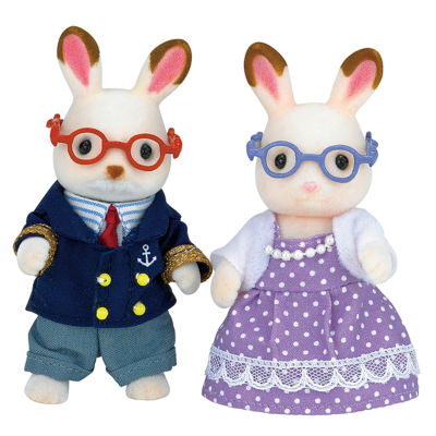 Calico Critters Hopscotch Rabbit Grandparents