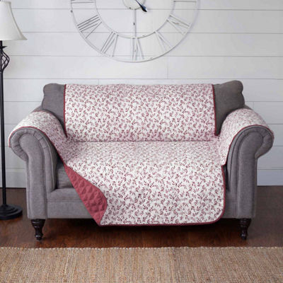 Journee Home Colette Reversible Printed Loveseat Protector