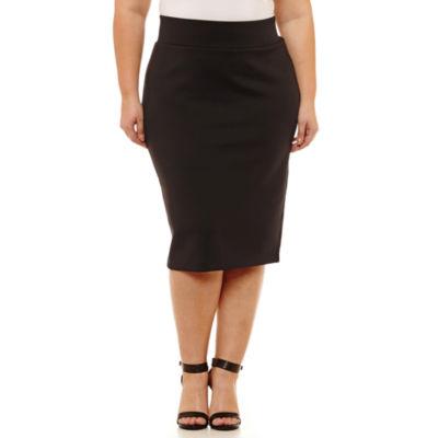 Boutique + Pencil Skirt - Plus