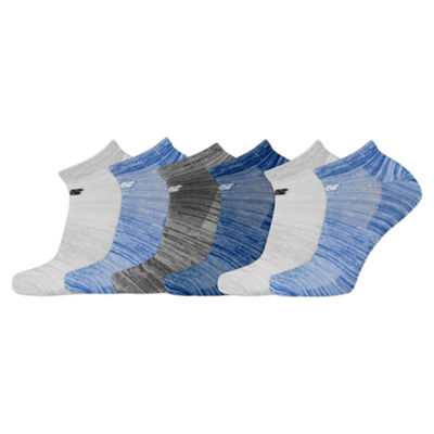 New Balance 6 Pair No Show Socks - Womens