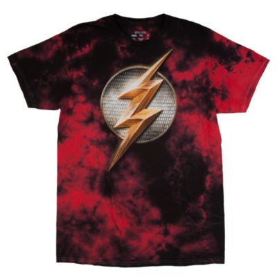 DC Justice League Flash Shield Graphic Tee