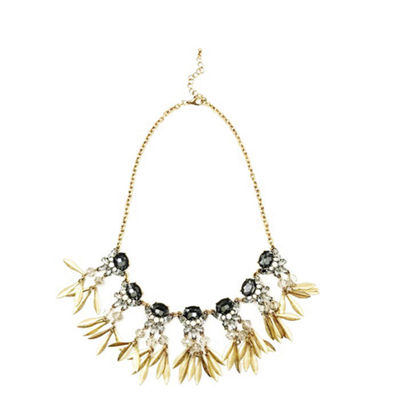 Bijoux Bar Womens Statement Necklace