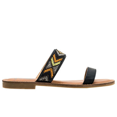 GC Shoes Womens Peggy Slide Sandals