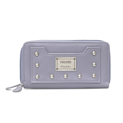 Nicole By Nicole Miller Sydney Zip Around Wallet