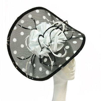Whittall & Shon Fascinator Derby Hat