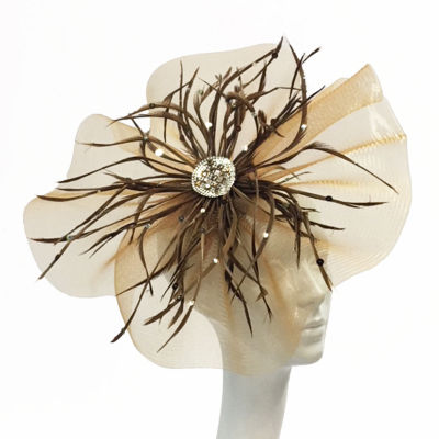 Whittall & Shon Fascinator Derby Hat