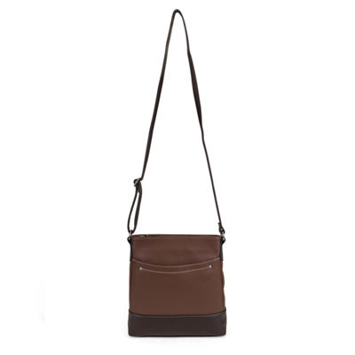 Mundi Rio Leather Crossbody Bag