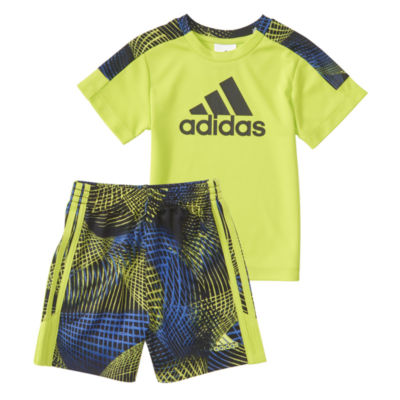 adidas Amplified Net Short Set Baby Boys