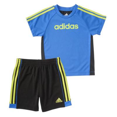 adidas Hat Trick Short Set- Baby Boy