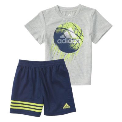 adidas Defender Short Set- Baby Boys