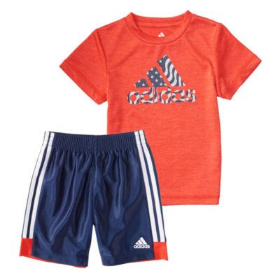 adidas United in Sport Shor Set- Baby Boy