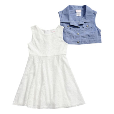 Emily West 2-pc. Jacket Dress Girls