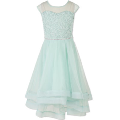 Speechless Sleeveless Ball Gown - Big Kid Girls