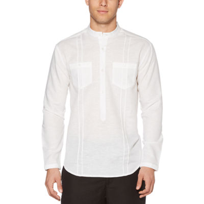 Cubavera Long Sleeve Button-Front Shirt