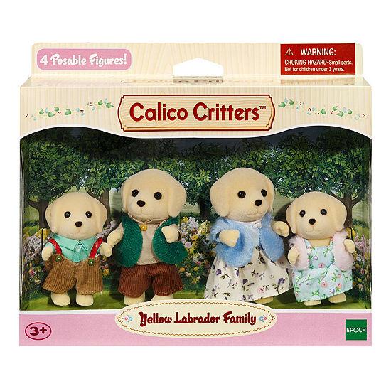 Calico Critters Labrador Family