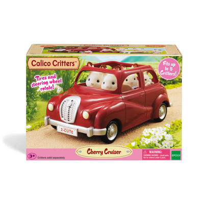 Calico Critter Cherry Cruiser