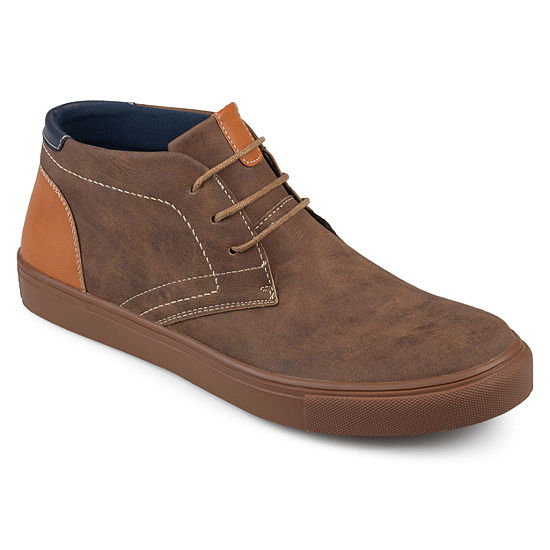 Vance Co Mens Oscar Chukka Boots Lace-up