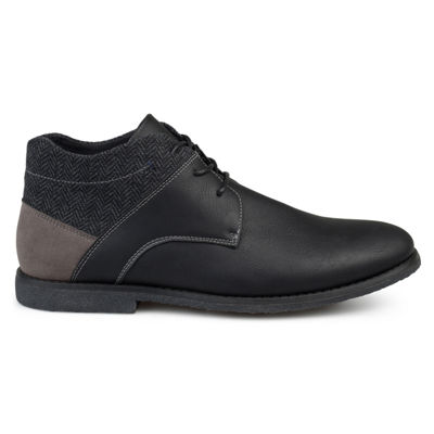 Vance Co Mens Norton Chukka Boots Lace-up
