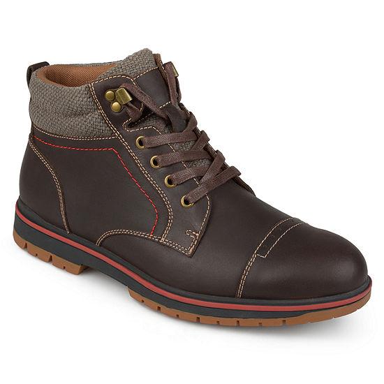 Vance Co Mens Javor Lace Up Boots
