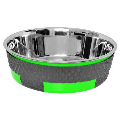 Color Splash Designer Trimond Bowl in Green - Large