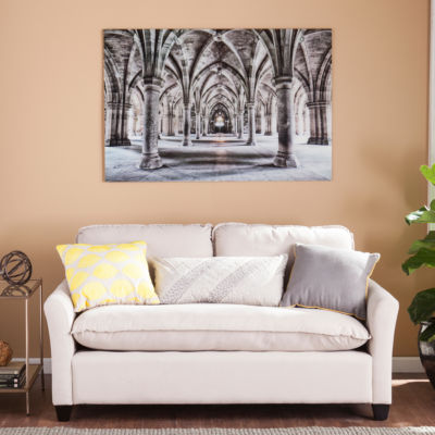 Southlake Furniture Gothic Arches Glass Wall Art