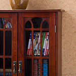 Home Décor Collections Window Pane Media Cabinet