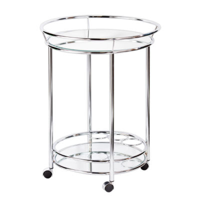 Cressida Metal-Top Serving Cart