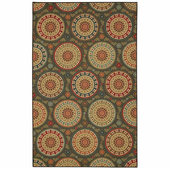 Mohawk Home Soho Amias Medallion Printed Rectangular Indoor Rugs