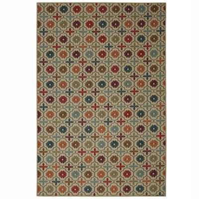 Mohawk Home Soho Nadine Celine Tile Printed Rectangular Rugs