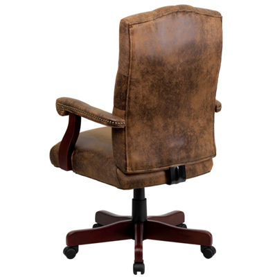 Executive Swivel Chair with Arms