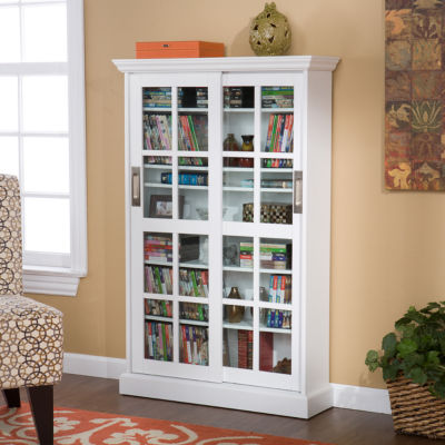 Southlake Furniture Sliding Door Media Cabinet