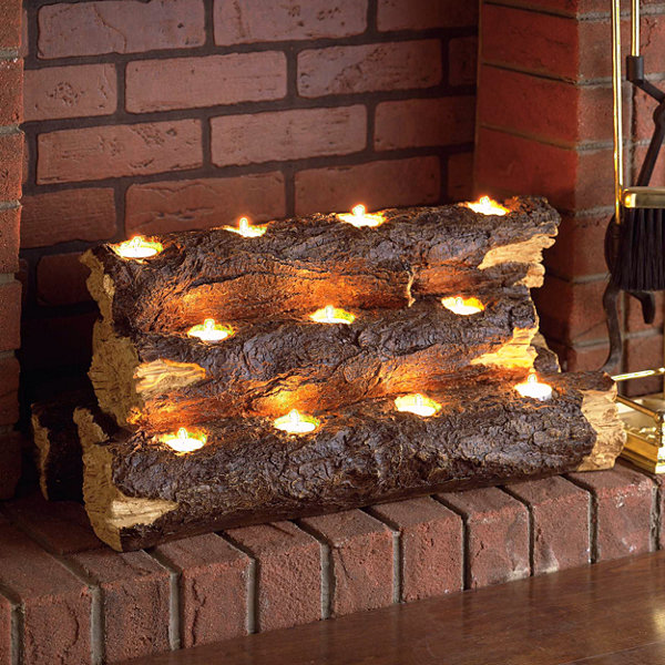 Tealight Electric Fireplace