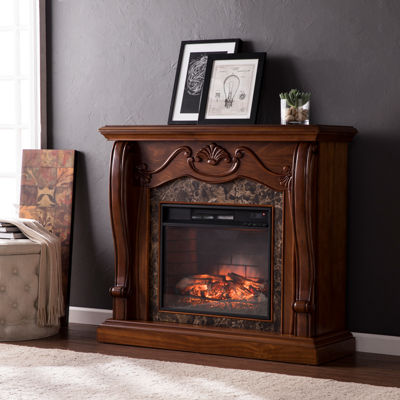 Aux Electric Fireplace