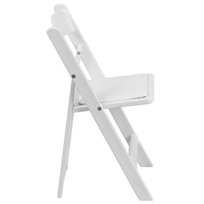 Kids Resin Folding Chair with Vinyl Padded Seat