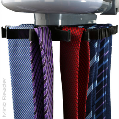 Mind Reader Electric Tie Rack - Holds 45