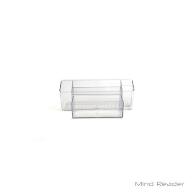Mind Reader Cabinet and Pantry Organizer, Clear