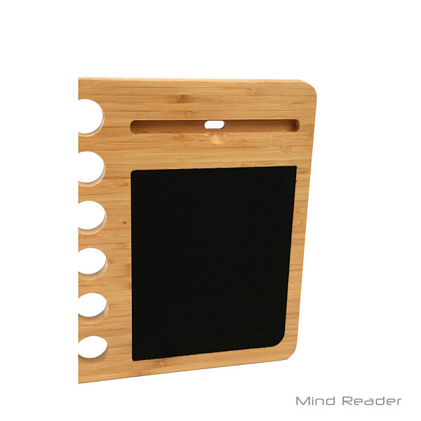 Mind Reader Bamboo Mobile Laptop Desk, Brown