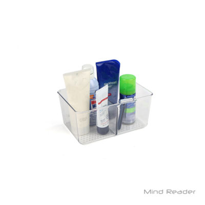 Mind Reader Bathroom Supply Organizer, Clear