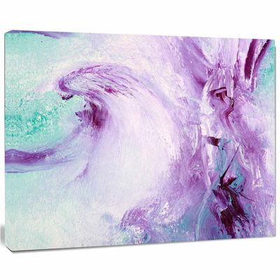 Designart Deep Colors Abstract Canvas Art Print