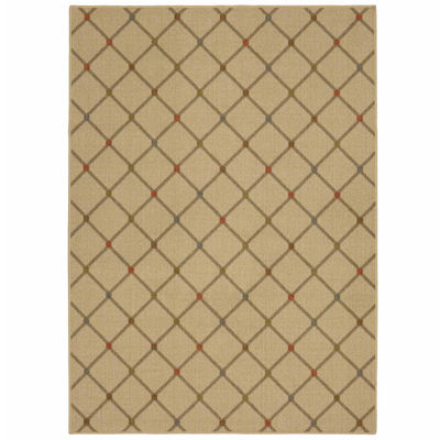 Mohawk Home Soho Channel Block Printed Rectangular Rugs