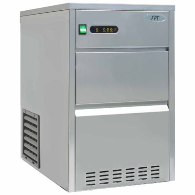 SPT IM-1109C: 110 lbs Automatic Stainless Steel Ice Maker