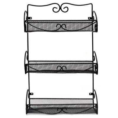 Sorbus Spice Rack and Multi-Purpose Organizer - 3 Tier Wall Mounted Storage Rack