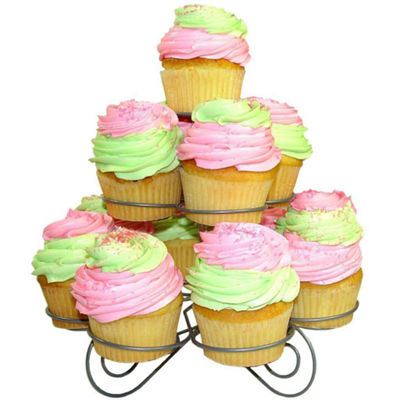3-Tier Cupcake Dessert Collapsible Stand