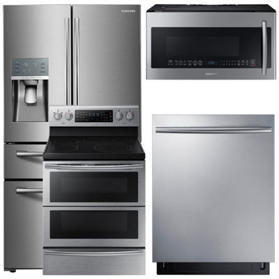 Samsung® 4-pc. Electric Kitchen Package