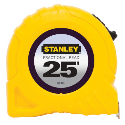 Stanley Hand Tools 30-454 25' Fractional Read Tape Rule