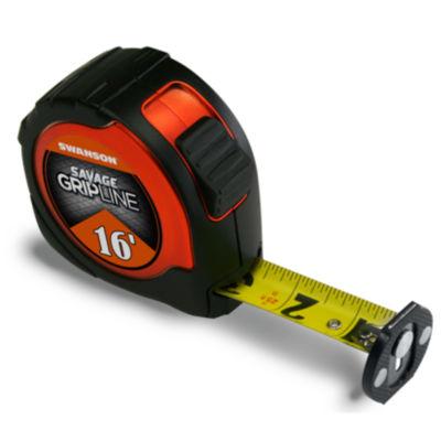 Savage Svgl16M1 16' Magnetic Gripline Tape Measure