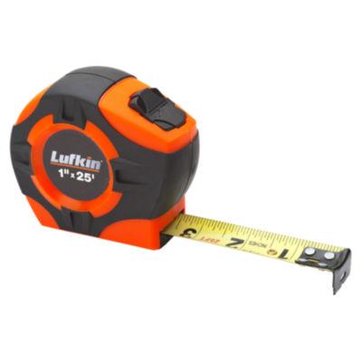 "Lufkin Phv1425N 1"" X 25' Orange Tape Measure"