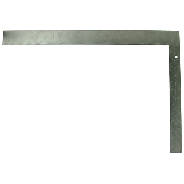 "Mayes 10440 24"" Aluminum Rafter Square"