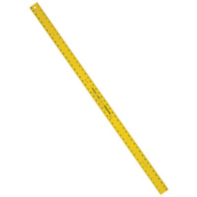 """Swanson Ae142 48"""" Yellow Straight Edge"""